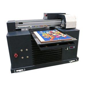 Шинэ дизайн Mini Flatbed A3 A4 Хэмжээ Ширээний Epson UV Printer хэвлэгдэв