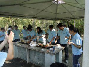 Gucun Park-д BBQ, 2014 оны намар