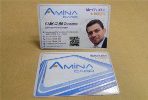 Дугуйны UV хэвлэгчээс Бизнесийн нэр картыг боловсруулсан дээж-А2 хэмжээтэй WER-D4880UV