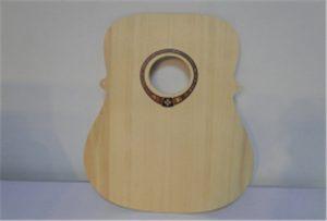 А2 хэмжээтэй хэт ягаан туяаны хэвлэгч WER-DD4290UV -аас модон гитар дээж